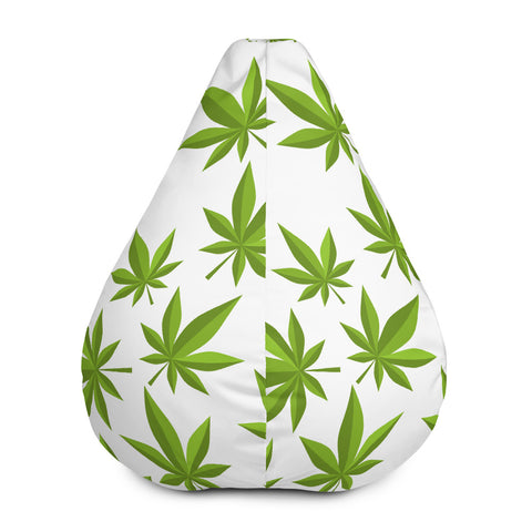 Weed Bean Bag Chair Cover - 420 Mile High