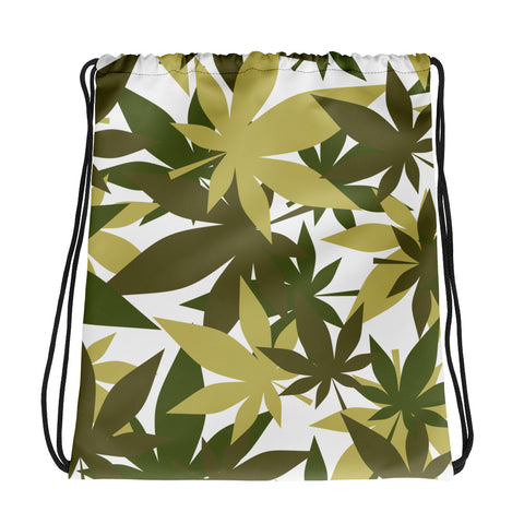 Military Weed Drawstring Bag - 420 Mile High