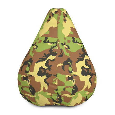 Green Camo Bean Bag Chair Cover - 420 Mile High