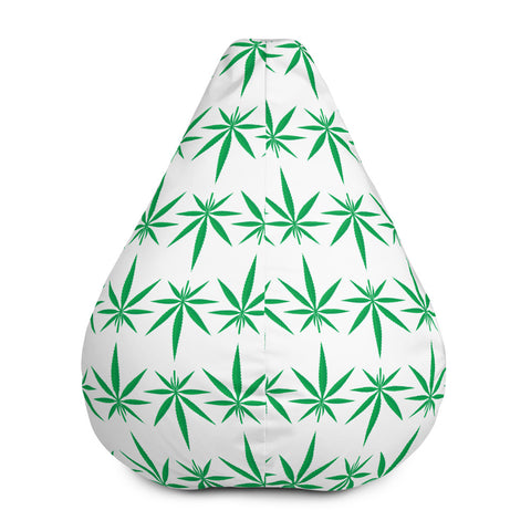 Cannabis Weed Bean Bag Chair Cover - 420 Mile High