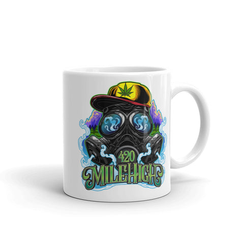 420 Mile High Logo Coffee Mug - 420 Mile High