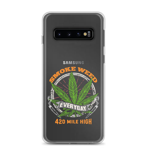Smoke Weed Everyday Samsung Phone Cases