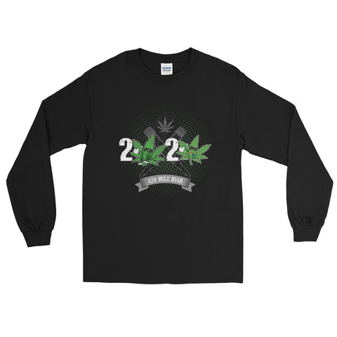 2020 Weed Long Sleeve T-Shirt - 420 Mile High