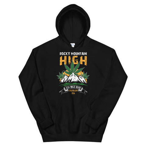 Rocky Mountain High Pullover Hoodie - 420 Mile High
