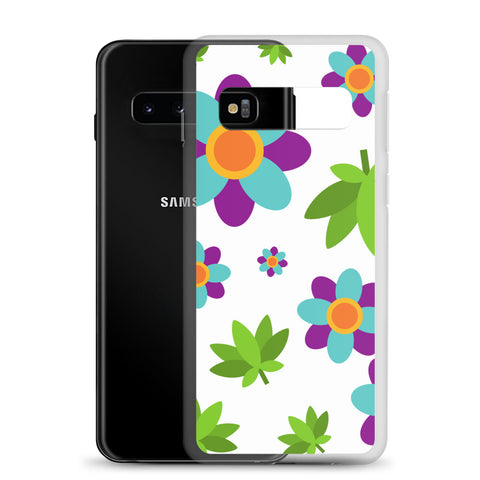 Flowers and Weed Samsung Phone Case - 420 Mile High