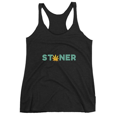 Women's Stoner Racerback Tank Top - 420 Mile High