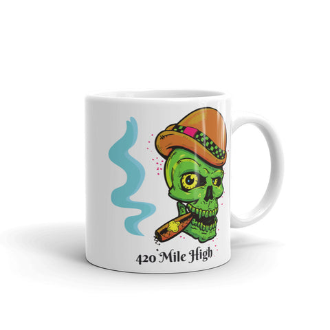 Smoke A Fat One Mug - 420 Mile High
