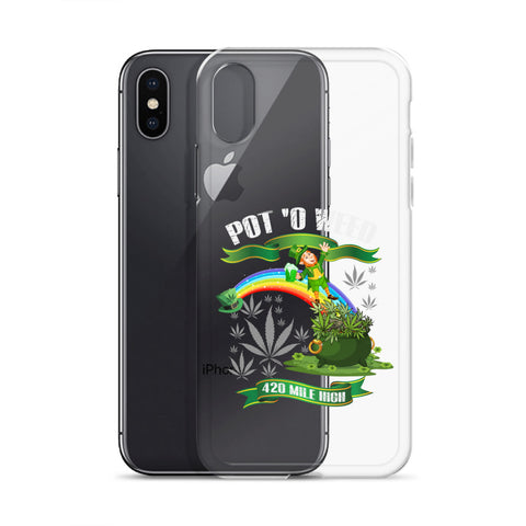 Pot O Weed iPhone Case - 420 Mile High