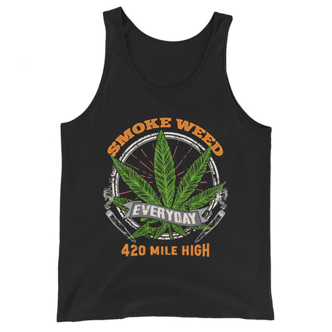 Smoke Weed Everyday Tank Top - 420 Mile High