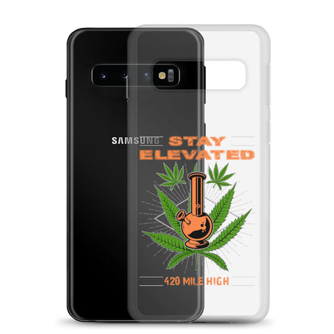 Stay Elevated Samsung Mobile Phone Case - 420 Mile High