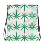 Cannabis Weed Drawstring Bag