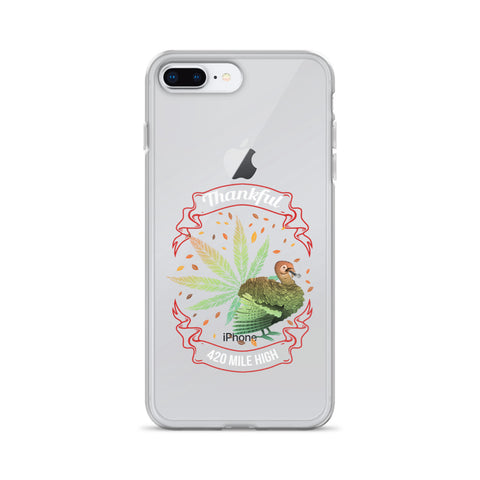 Thankful For Weed iPhone Case - 420 Mile High