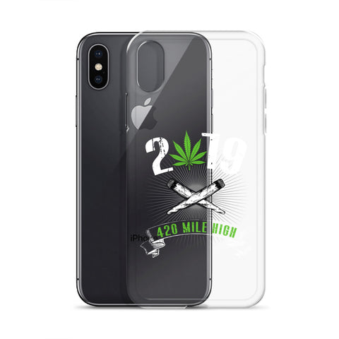 2019 Weed iPhone Case - 420 Mile High