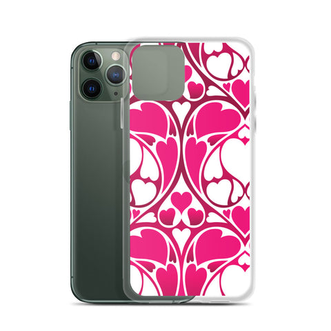 Heart Pattern iPhone Case - 420 Mile High
