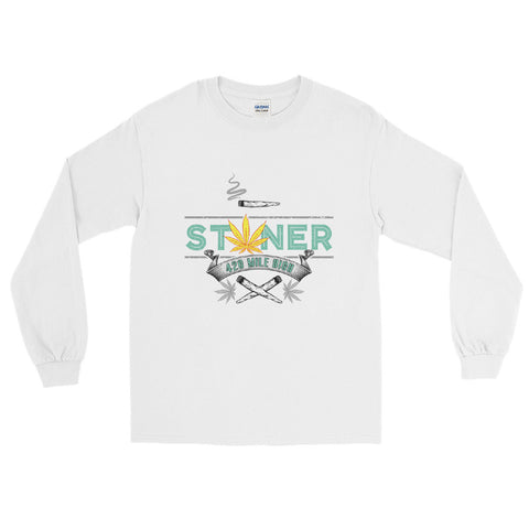 Stoner Weed Long Sleeve T-Shirt - 420 Mile High