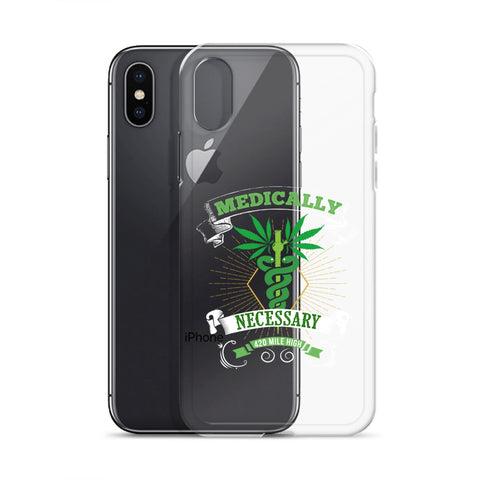 Medically Necessary Weed iPhone Case - 420 Mile High