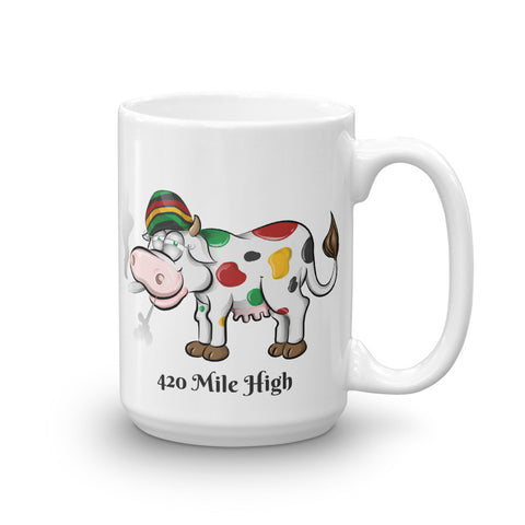 Mooooore Please!  Mug - 420 Mile High