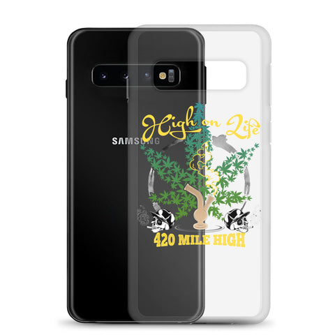 High On Life Weed Samsung Cases