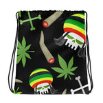 Party Weed Drawstring Bag - 420 Mile High