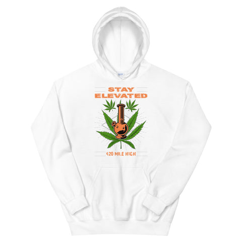 Stay Elevated Pullover Hoodie - 420 Mile High