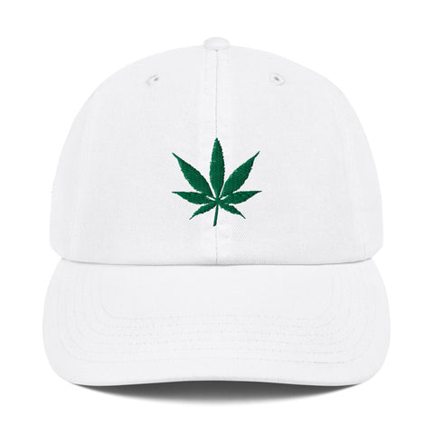420 Marijuana Weed Leaf Champion Dad Hat - 420 Mile High