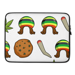 Rasta Life Weed Laptop Protective Sleeve - 420 Mile High