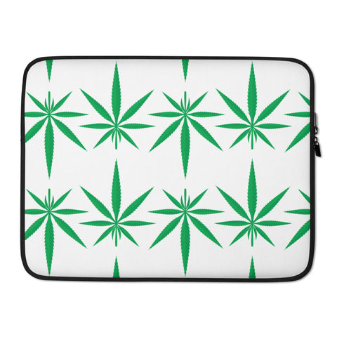 Cannabis Weed Laptop Protective Sleeve - 420 Mile High