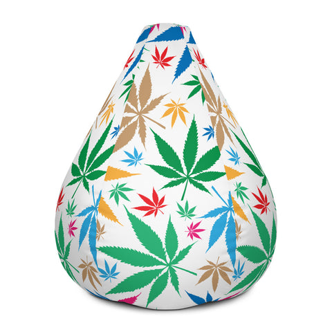 Multi-Color Weed Bag Chair Cover - 420 Mile High