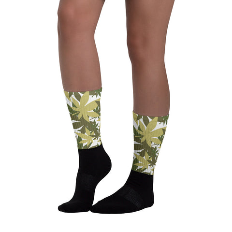 Military Weed Socks - 420 Mile High
