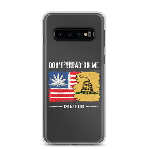Don't Tread On Me 420 Samsung Phone Case | 420 Mile High