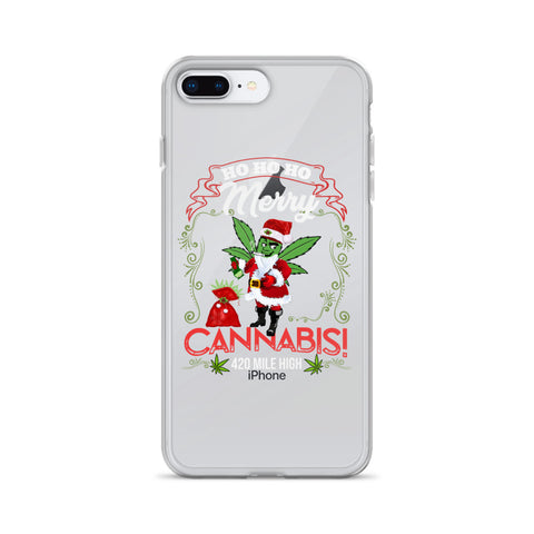 Merry Cannabis iPhone Case - 420 Mile High