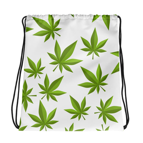 Weed Drawstring Bag - 420 Mile High