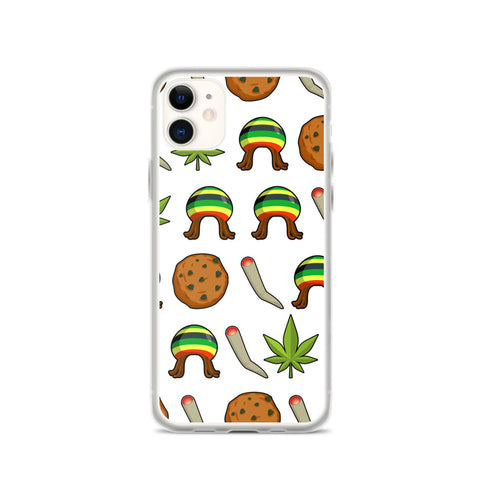 Rasta Life Weed iPhone Case - 420 Mile High