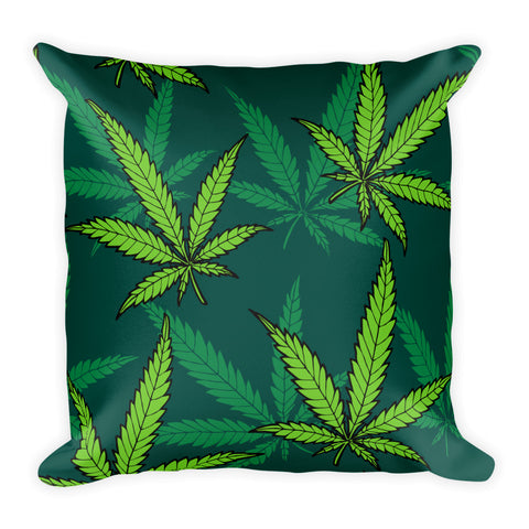 420 Mile High Weed Basic Pillow - 420 Mile High