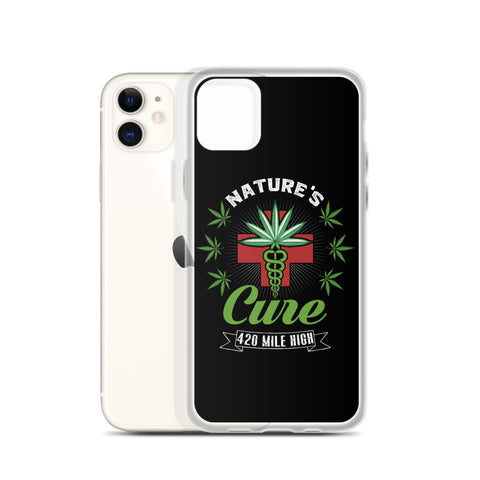 Nature's Cure 420 Weed iPhone Case | 420 Mile High