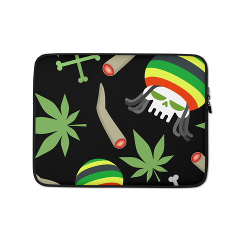 Party Weed Laptop Protective Sleeve - 420 Mile High