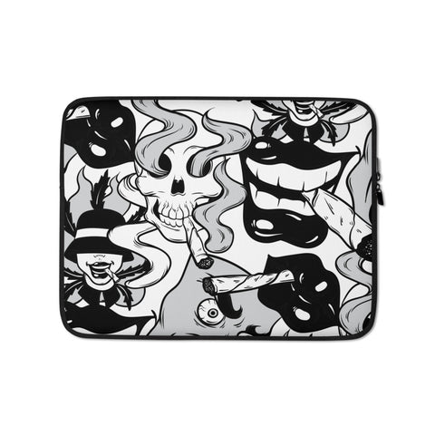 Smoke Weed Laptop Protective Sleeve - 420 Mile High