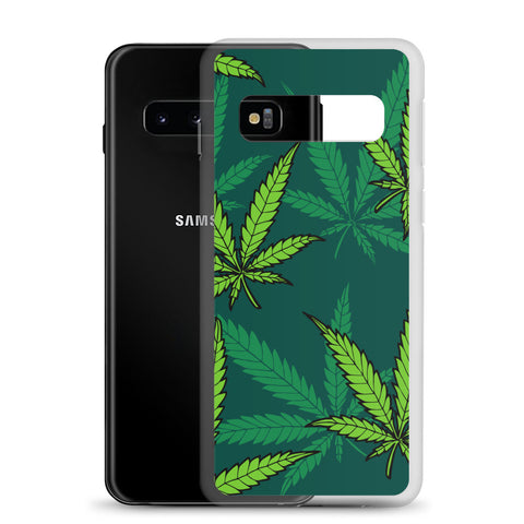 420 Mile High Green Weed Samsung Cases