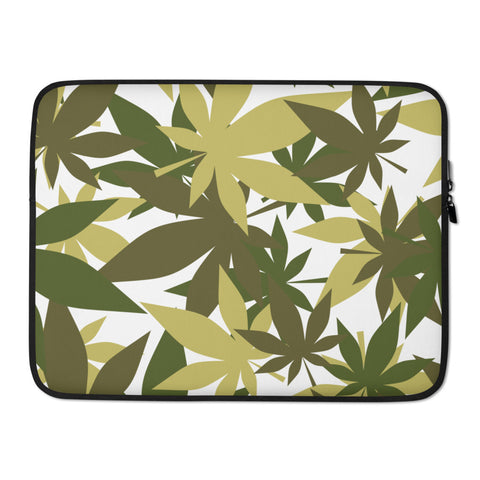 Military Weed Laptop Protective Sleeve - 420 Mile High