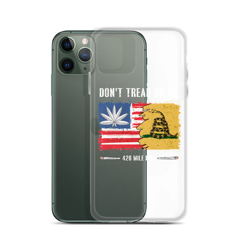 Don't Tread On Me 420 iPhone Case | 420 Mile High