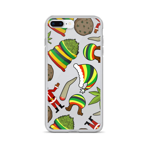 Christmas Weed iPhone Case - 420 Mile High