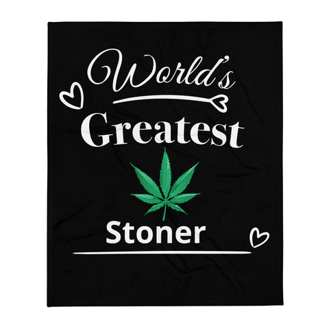 Greatest Stoner Throw Blanket