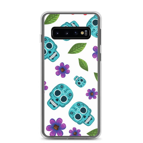 Skull and Flower Samsung Phone Case - 420 Mile High