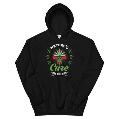 Nature's Cure Pullover 420 Weed Hoodie | 420 Mile High
