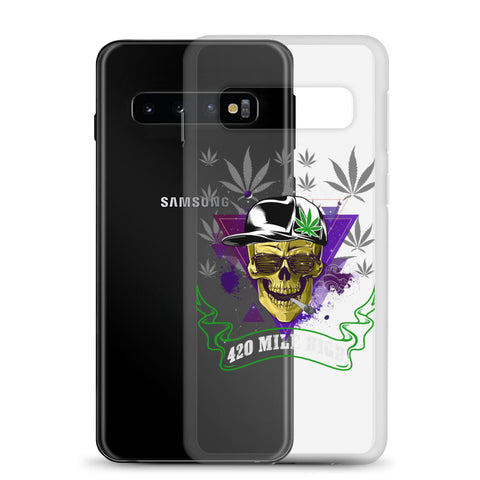 420 Mile High Party Weed Samsung Cases