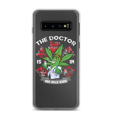 The Weed Doctor Is In Samsung Phone Cases