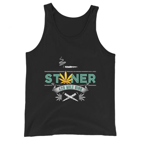 420 Mile High Stoner Tank Top - 420 Mile High