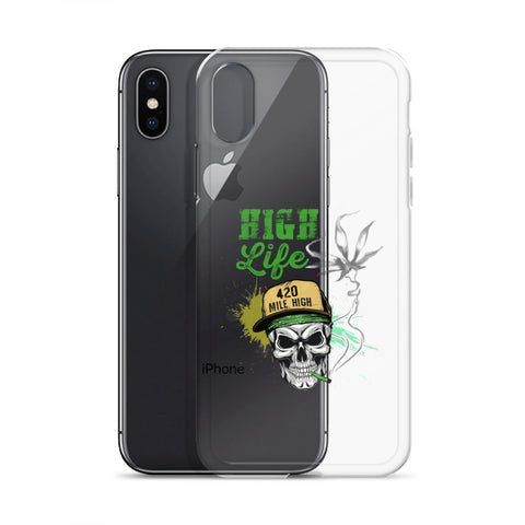 High Life iPhone Case - 420 Mile High