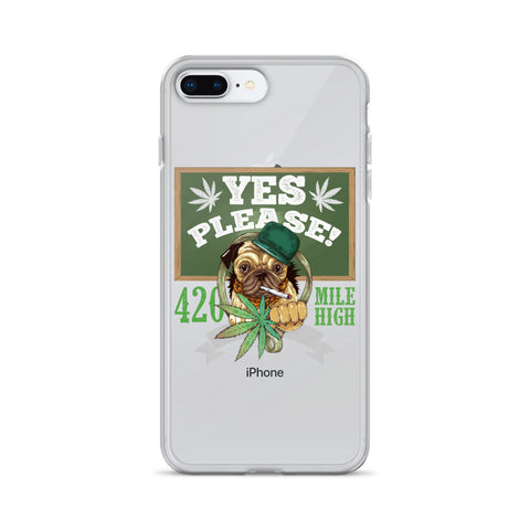Yes Please!  iPhone Case - 420 Mile High