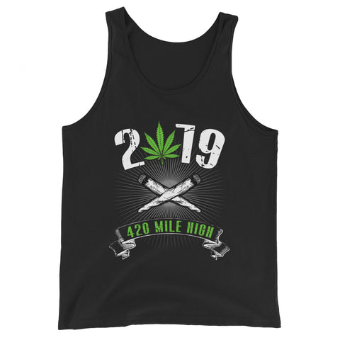 2019 Weed Tank Top - 420 Mile High